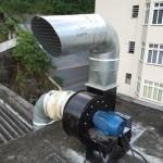 exaustor centrifugo de 5hp.